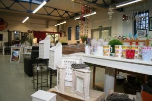 Sozialkaufhaus -Innenansicht Kaufhaus