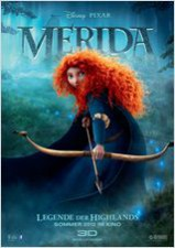 Und auf dem Kopf trägt Merida einen Schopf roten Haars.