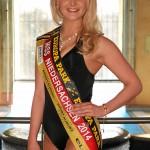 Auch Miss Niedersachsen Isabel Krämer kam nicht unter die letzten drei