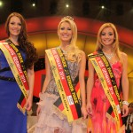 Die Top 3 der Miss-Germany-Wahl 2014: Catharina Leers (20), Vivien Konca (19) und Evelyn Konrad (19)