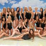 Bademissen: die Teilnehmerinnen im Badedress