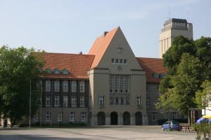Rathaus + Wasserturm Delmenhorst