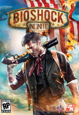Bioshock Infinite, First Person Shooter, Official Cover